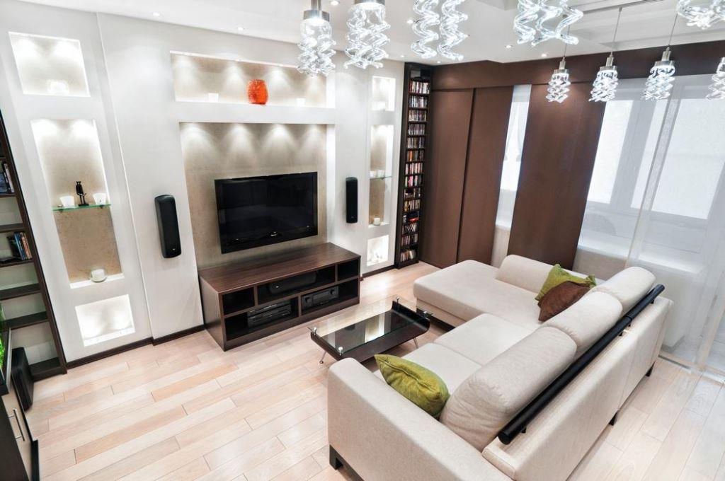 Выбираем диван для гостиной комнаты
