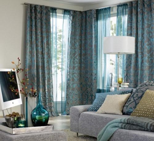 Шторы в интерьере комнаты для гостей — советы дизайнеров