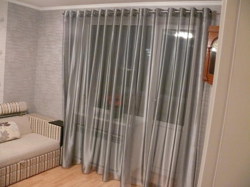 Шторы на люверсах для гостиной - обзор