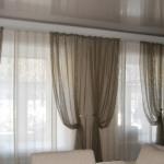 Занавески для гостиной - фото и секреты оформления