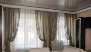 Занавески для гостиной — фото и секреты оформления