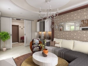 интерьер гостиной 20 кв м