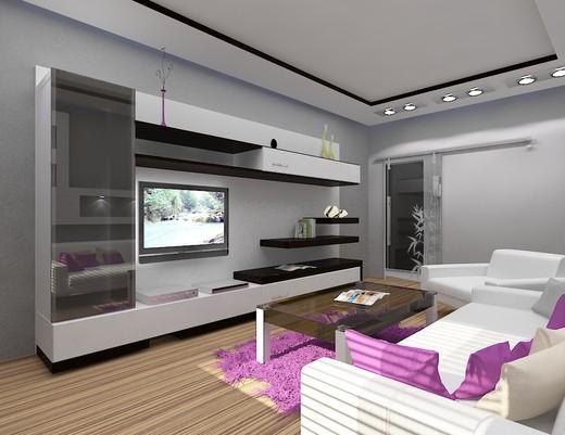 Интерьер гостиной в стиле минимализм - простота и удобство