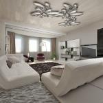 Стильные и модные люстры для гостиной - украшаем комнату