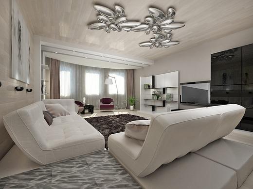 Стильные и модные люстры для гостиной — украшаем комнату