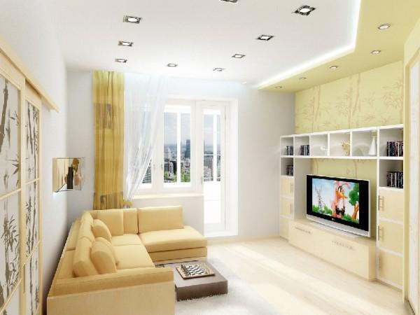 дизайн гостиной в 16 кв м