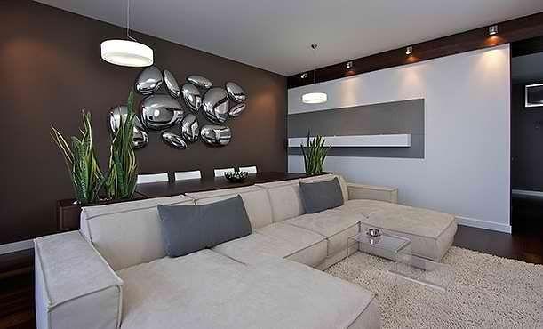 Интерьер гостиной в стиле модерн - советы профи
