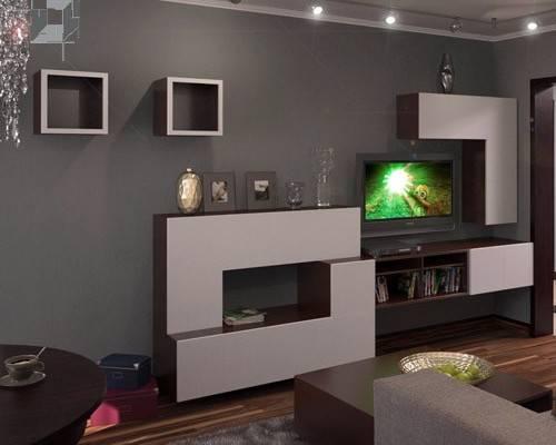 Серая гостиная — секреты интерьера
