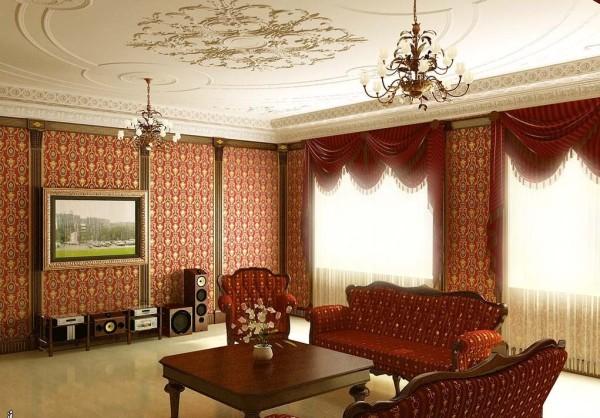 дизайн английской гостиной