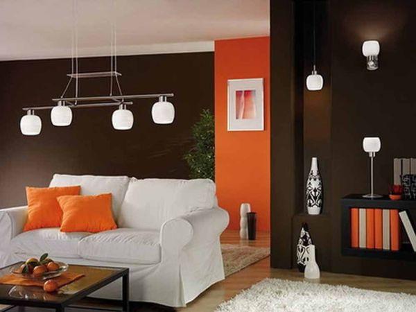потолочные светильники в гостиной
