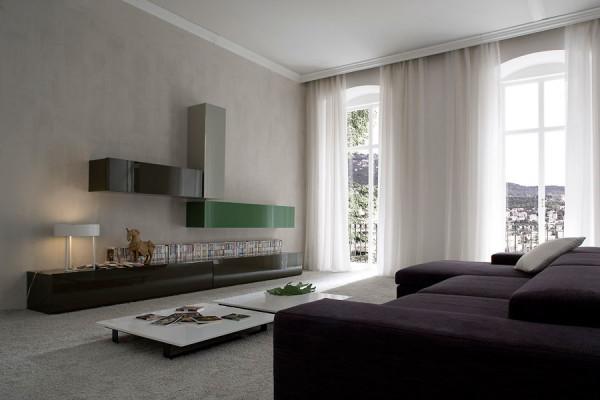 современная гостиная модерн