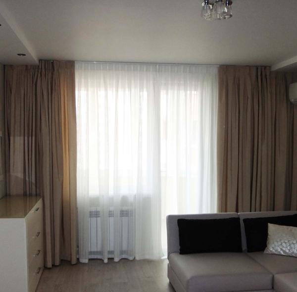 стильные шторы в гостиную