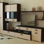 Модульные стенки в гостиную - советы