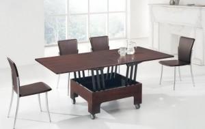 Как выбрать стол трансформер - обустройство гостиной