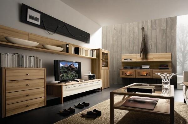 современная стильная гостиная