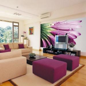 Фотообои в гостиной — фото интерьера и советы