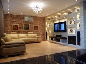 Стильный интерьер гостиной — советы и фото