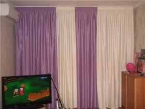 портьеры в гостиной