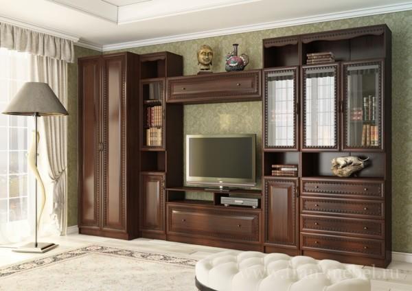 стенка классическая для гостиной