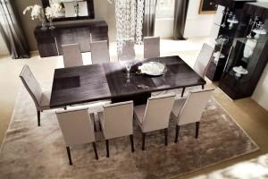 Обеденный стол для гостиной комнаты - обустраиваем комнату