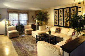 Фен-шуй гостиной комнаты - гармония стиля