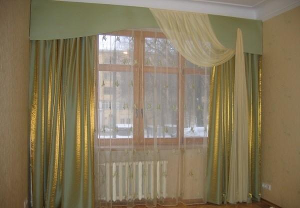 современные портьеры для гостиной
