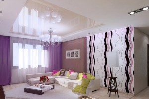 идеи ремонта в гостиной
