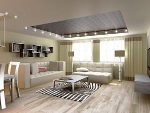 Современный ремонт и дизайн гостиной — все тонкости от профи