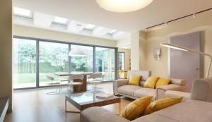 Гостиная с панорамными окнами — варианты дизайна