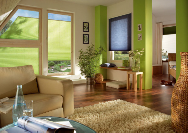 необычные шторы в гостиной