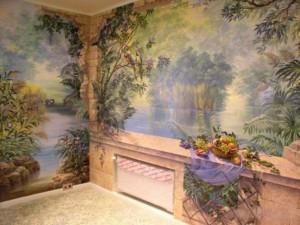Как и чем отделать стены в гостиной?