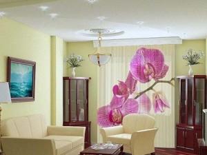 Оригинальные шторы в комнату для гостей — рекомендации