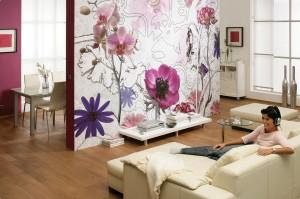 декор стен гостиной своими руками