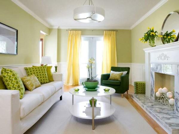 шторы в маленькой гостиной