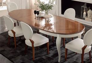 раздвижной стол для гостиной