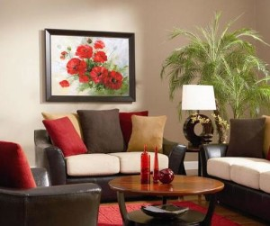 Как выбрать картину для стены в гостиной?