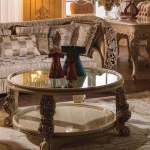 овальный стол для гостиной