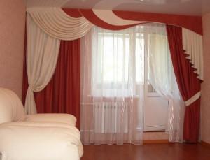 Уместны ли асимметричные шторы в гостиной комнате?
