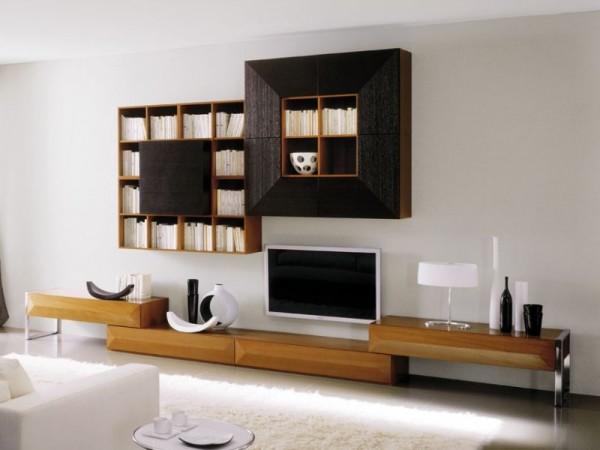 современные модели стенки горки для гостиной