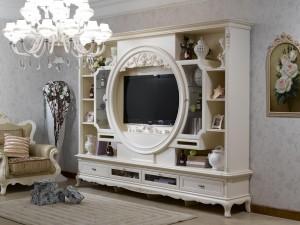 Французский стиль в интерьере гостиной комнаты