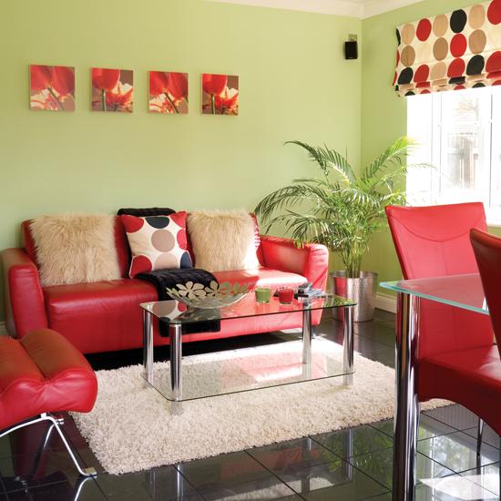 мебель в интерьере маленькой гостиной