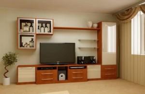 Мебель в маленькую комнату для гостей