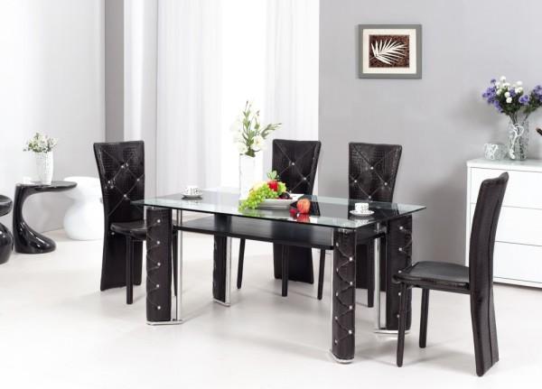 стеклянный стол для гостиной