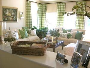 гостиная в оливковом цвете