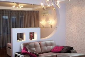 спальня-гостиная идеи дизайна