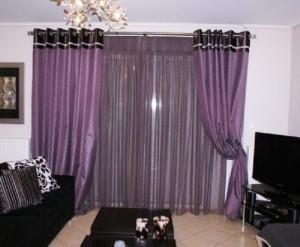 ночные шторы для гостиной