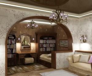 зонируем пространство гостиной