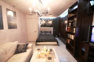 Дизайн и интерьер гостиной-спальни в хрущевке