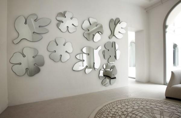 зеркальный декор для стен