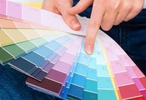 как красить стену
